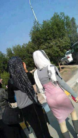 عکس دختر تهرانی بی حجاب